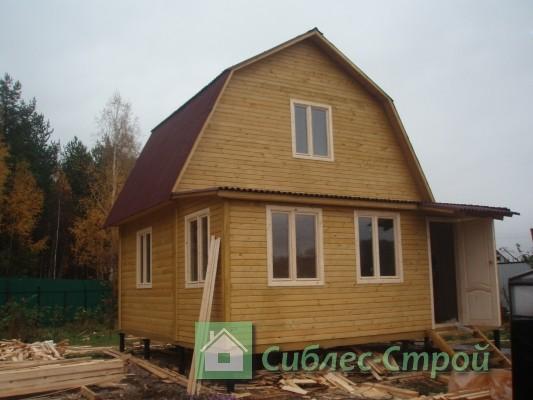 "Построили дом в посёлке ""Морозово"""