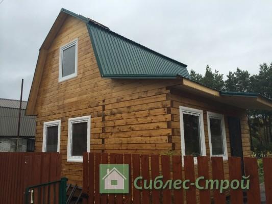 Построен дом из бруса 6x5 под ключ в городе Бердске.