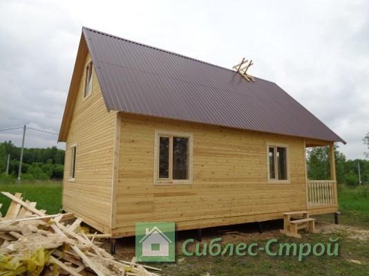 """Закончили дом 6x9 в СНТ """"Надежде"""""""